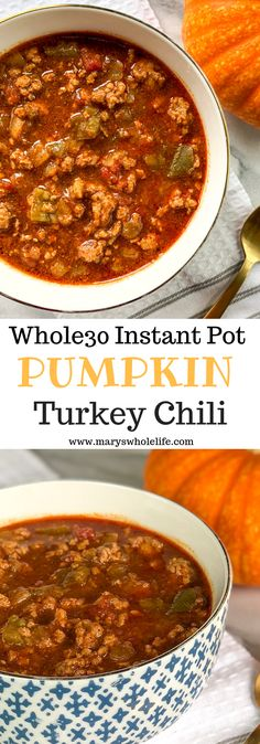 A fall twist on your favorite chili! Whole30, paleo, keto, and gluten free! Perfect for game day or a cozy night at home.