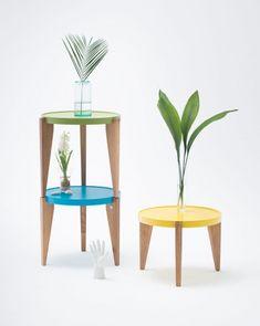 Blog - Designerskie meble z drewna Mebloscenka Cafe Tables, Table Legs, Modern Design, Flooring, Wood, Colour, Furniture, Coffee, Home Decor
