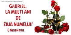 La Multi Ani Constantin, Happy Name Day, Christmas Ornaments, Fruit, Holiday Decor, 8 Noiembrie, Video, Gif, Google
