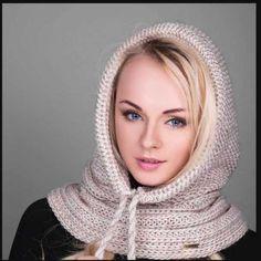 Knitting Designs, Knitting Patterns, Knit Crochet, Crochet Hats, Balaclava, Crochet Fashion, Yarn Crafts, Crochet Clothes, Knitted Hats