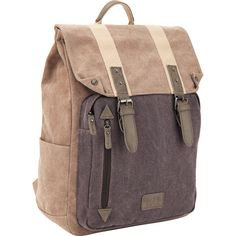 Удобный, легкий и прочный молодежный рюкзак из брезента коричневого цвета. Рекомендован для ежедневного использования в рамках активной городской жизни. Рюкзак имеет одно большое вместительное отделение с карманом для ноутбука, 2 передних и 2 боковых кармана. Уплотненная спинка, регулируемые лямки и небольшой вес (всего 995 г) делают рюкзак комфортным и необременительным для своих пользователей. Небольшой передний кармашек для телефона или разных мелочей делает вещи быстродоступными.