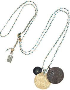 ShopStyle: SCOSHA 10-karat gold braided necklace