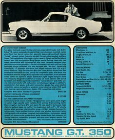 Classic Car News Pics And Videos From Around The World Mustang Girl, Mustang Cobra, Mustang Fastback, Mustang Boss, Classic Mustang, Ford Classic Cars, Ford Mustang History, Bicicletas Raleigh, Ford Shelby