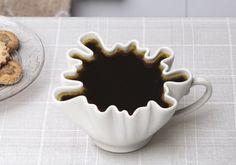 Nothing beats a splash of coffee. #Mugs #Coffee #MrCoffee