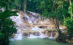 Dunn's River Falls, Jamaica - 25 Awe-Inspiring Waterfalls to See Before You Die | Travel + Leisure