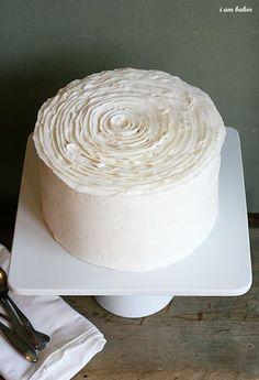 Beautiful cake decorating
