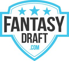 Logo for FantasyDraft. Play Fantasy Sports games at FantasyDraft when you Signup here www.realmoneyfantasyleagues.com/go/fantasy-draft.php and get in on the action!