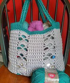 The Deco Tote PATTERN crochet pattern tote bag beach bag