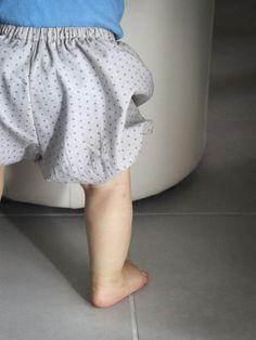 Couture simple et rapide pour mon bébé : Le bloomer