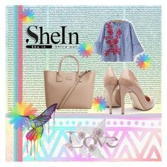 """""""shein"""" by zilka1 ❤ liked on Polyvore featuring MANGO, Rupert Sanderson and Oris"""