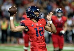 "Arizona QB Anu Solomon announces plans to transfer = 'Tis the season for transfers. Wildcats quarterback Anu Solomon announced this plans to transfer from Arizona on Tuesday. He is expected to graduate and be eligible to play right away. ""I first want to take this....."