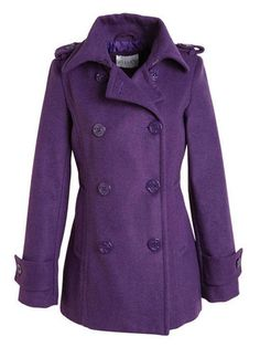 Devin Peacoat with Thinsulate, $82, delias.com also available in: BLACK, CHARCOAL GRAY, MERLOT, NAVY, and RED