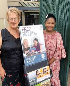 Public witnessing in New Zealand. Photo shared by @reba_girl1