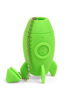 Rocket tea infuser $8