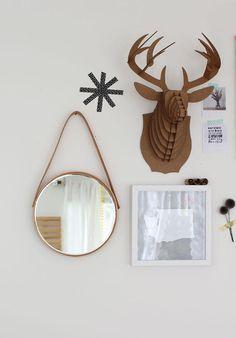 DIY Mirror DIY Hanging mirror DIY Mirror