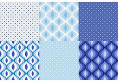 Ultramarine Ornament Pattern Set