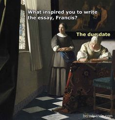 Best Inspiration - History Memes - - 50 Of The Funniest Classical Art Memes Ever (New Pics) The post Best Inspiration appeared first on Gag Dad. Renaissance Memes, Medieval Memes, Renaissance Art, Ancient Memes, Art History Memes, History Timeline, Classic Memes, Classical Art Memes, Haha