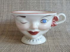 This cup was part of a promotion done by the Lipton Tea company back in the 1950's on the Gary Moore show.