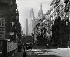 Henry Street, Manhattan. New York (1935-1938)