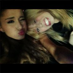 With Jennette! I missing play with her in Sam&Cat. She was the best actor (still she's). <3 My cutest jen <3