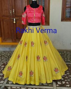 Please what's app/call us on +919949184003/+919748822853 Book ur orders now  Like ✔  Share ✔  Tag ✔  Invite your friends this Page ✔ https://www.facebook.com/rakhiverma.nandu *****For Immediate response and Price Please Inbox in our page or whatsapp us on +919949184003***** or mail us at enquiry.rakhiverma@gmail.com  #sumangali,#lengha , #bridal, # #suits #leng…