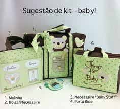 Produtos coordenados para o enxoval do baby! Em Chria Handmade Art! www.chria.com.br