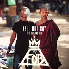 Music Video: Fall Out Boy - Volcanoes Album Art, Cover Art, Musicians Wekosh.com