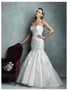 Allure Couture Wedding Dress Style C331 | House of Brides