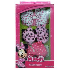 mm1047-LA - Minnie Mouse headwrap w/ grosgrain bow (Available Now)