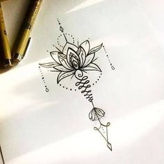 Image Result For Unalome Lotus Flower Meaning Ink T
