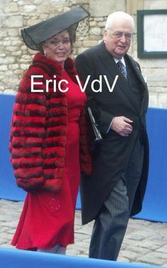 Duke Carl & Duchess Diane of Württemberg, née Princess of Orléans