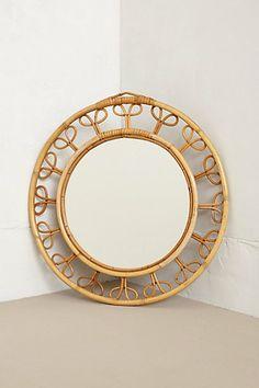 Found In Paris: Bamboo Mirror - anthropologie.com