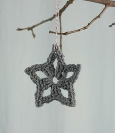 The Perfect Hiding Place: Crochet Christmas Stars in 2015 - Fashion Blog