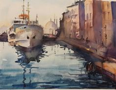By Aynur Akalin Watercolor.Turkey