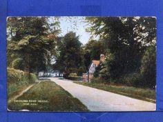 Pre 1918 Yorkshire postcard - Swanland Road, Hessle, East Yorkshire (10102) | eBay