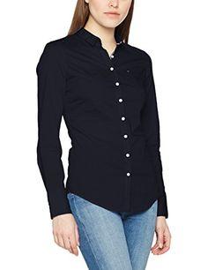 5fc880fa9f003 Hilfiger Denim Women s Blouse  Amazon.co.uk  Clothing