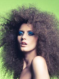 Dat Tran's Really Big Hair  ||  ModernSalon.com