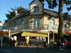 Igloo, Carnac, Brittany. 177 flavours, my favourite ice cream place since I was old enough to eat the stuff