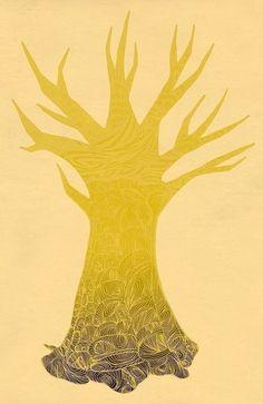 The Tree print -ashleyg.etsy.com