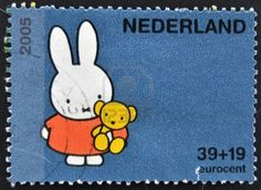 Nijntje  cute!  Hard to believe it is a Dutch stamp!