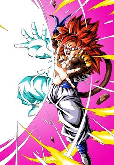 Dragon Ball Super is a Japanese anime television series and the latest syndicated/serialized entry in the Dragon Ball media franchise. Dragon Ball Gt, Gogeta Ss4, Akira, Goku Y Vegeta, Anime Shows, Anime Art, Drawings, Artwork, Lugia