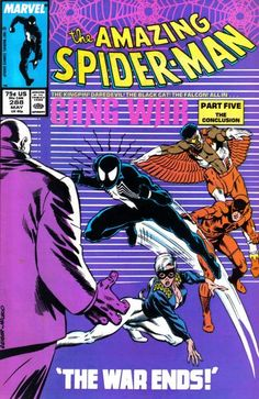 Cover for The Amazing Spider-Man (Marvel, 1963 series) #288 [Direct Edition]