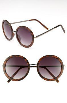 Fantas Eyes Round Sunglasses #Nordstrom