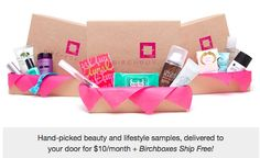 cute make-up boxes hand picked and delivered to ur door for $10 a month. different everytime