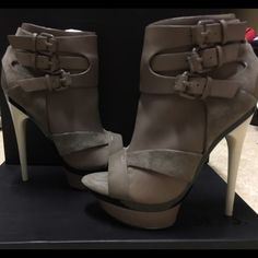 L.A.M.B. Dorrie Peep Toe Platform Bootie L.A.M.B. Super fashion booties!! Completely NEW! Never used. Original box! Super price!! L.A.M.B. Shoes Ankle Boots & Booties