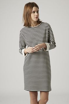 Topshop Tall Striped Tunic Dress. A classic look for a very affordable price. http://www.recoram.com @topshop