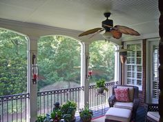 Candle sconces or gas lighting for screened in porch