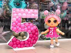 Birthday Cakes Girls Kids, Lol Dolls, Girl Cakes, The Balloon, Balloon Decorations, Party Planning, Balloons, Birthdays, Frame