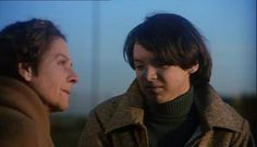 Ruth and Bud from an emotional scene in Harold and Maude.