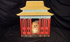 Indoor Dog House - The Imperial Palace by Simbas Castles via Etsy